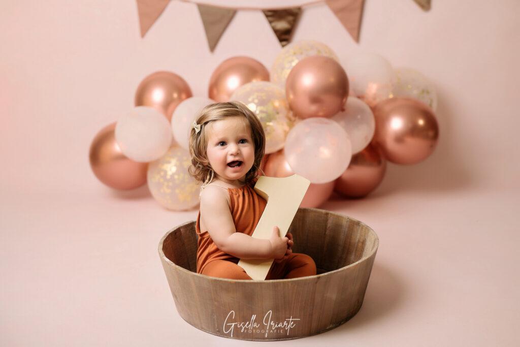 Servizio Fotografico Smash Cake per bambini